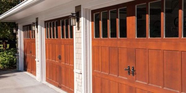Houston Custom Wood Garage Doors Woodlands Custom Made Overhead