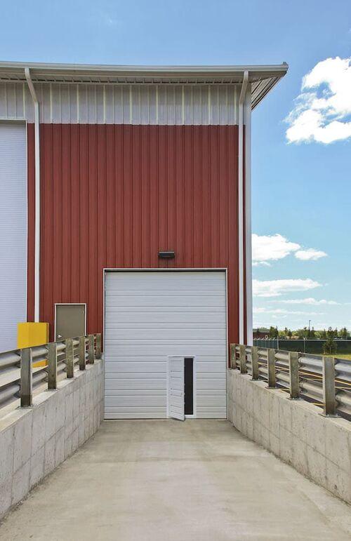 Heavy Duty 24 Gauge Commercial Overhead Doors…   LGA ... on 24' Garage Door  id=28697