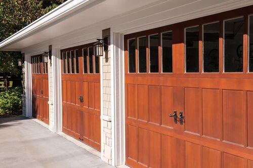 Houston Custom Wood Garage Doors Woodlands Custom Made Wood